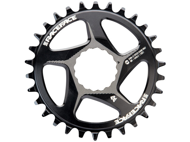 Race Face DM Cinch Chainring 12-speed 30T for Shimano black